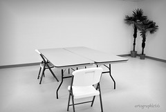 White on white (runjojorun) Tags: urban white work office industrial chairs room monotone tables conference sterile