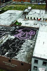 Swampy (Into Space!) Tags: city nyc bridge urban streetart ny newyork art rooftop brooklyn canon photo williamsburg graffit swampy intospace intospaces