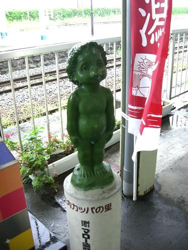 カッパ像/Kappa's Statue