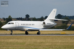 N609LS - 176 - Private - Dassault Falcon 2000LX - Luton - 100811 - Steven Gray - IMG_1349