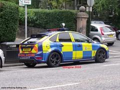 Fod Focus ST GLASGOW    (SF 10 DVY) (seifracing) Tags: seifracing police uk scotland ecosse ford britain anpr sf10dvy