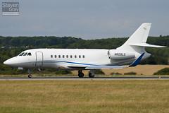 N609LS - 176 - Private - Dassault Falcon 2000LX - Luton - 100811 - Steven Gray - IMG_1352