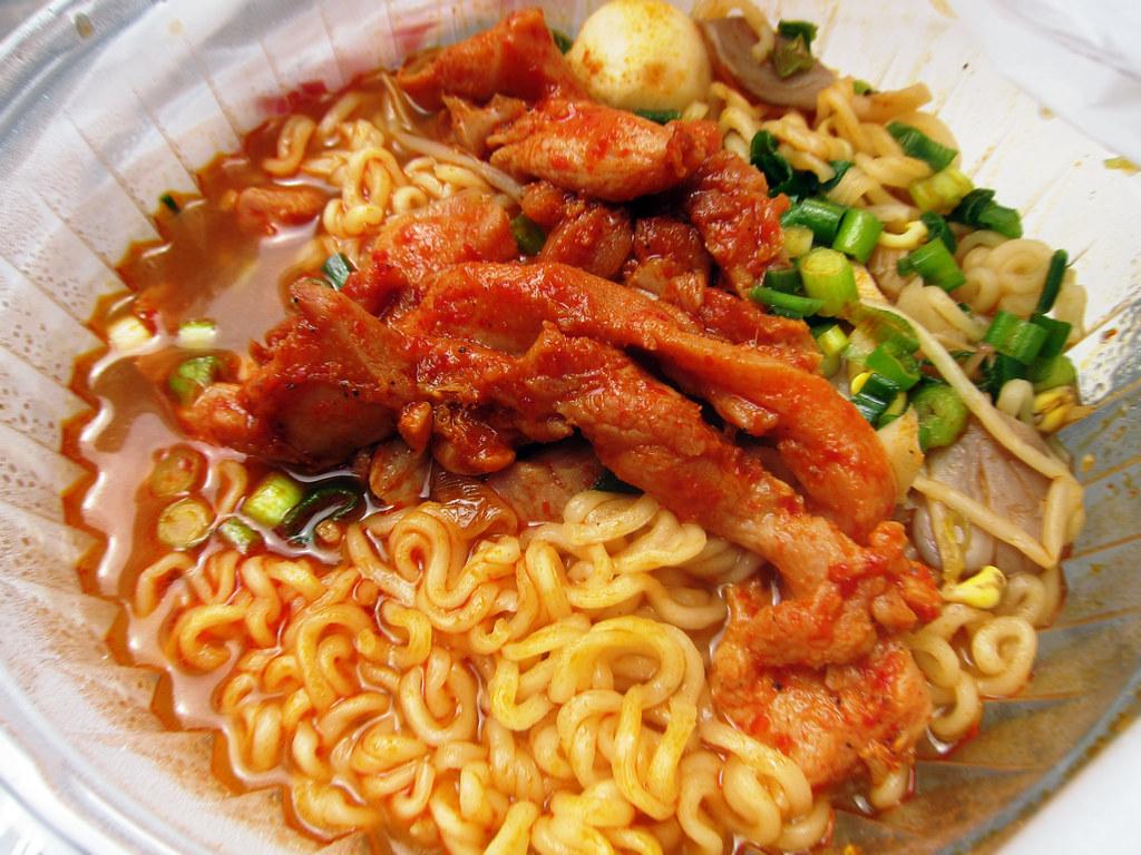 Bapcha Noodle Cart Ramyun