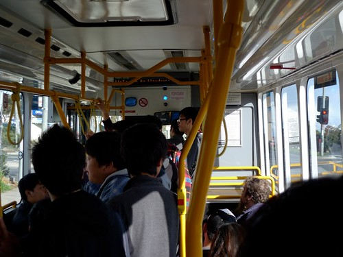 Crowded bus 903