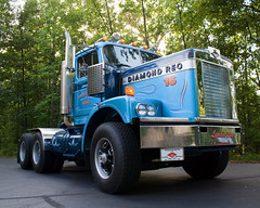 """1970 Diamond Reo C-114 """"Michigan Special"""" (scott_z28) Tags: old tractor classic truck vintage antique semi 1970 reo c114 diamondreo michiganspecial"""