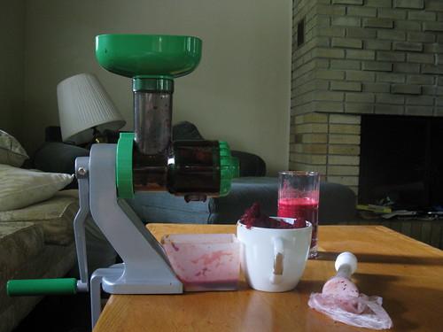 Hand-Crank Juicer