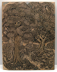 cutting the forest block (Tugboat Printshop) Tags: art forest print printmaking woodcut woodblock woodblockprint woodcutprint forestprint forestart tugboatprintshop traditionalprintmaking pittsburghartists forestwoodcut forestwoodcutprint forestwoodblock forestartprint forestcarvingprint limitededitionforestprint