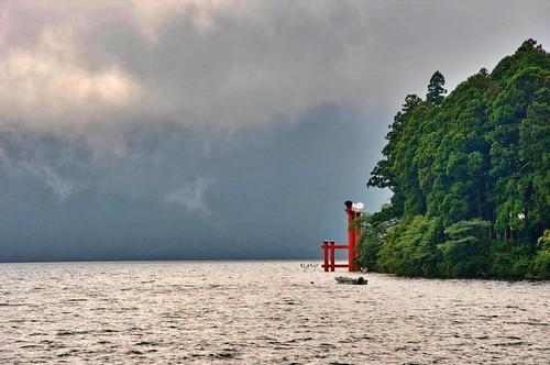 Peace torii