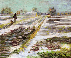 Vincent van Gogh - Landscape with Snow at Guggenheim Museum New York (mbell1975) Tags: new york usa snow ny art museum painting landscape us gallery museu with manhattan vincent musée musee m impressionism guggenheim museo van gogh impressionist muzeum müze museumuseum