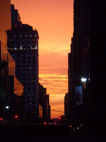 NYC Sunset_