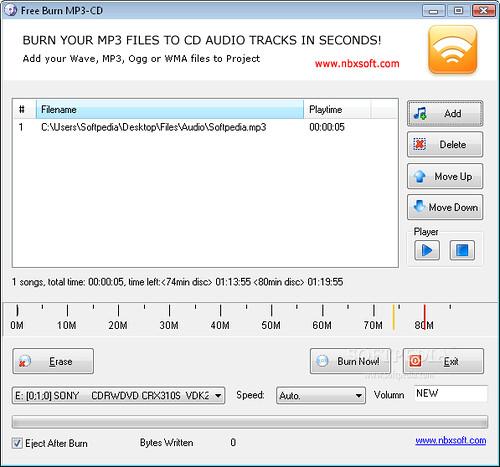 программа для записи cd mp3