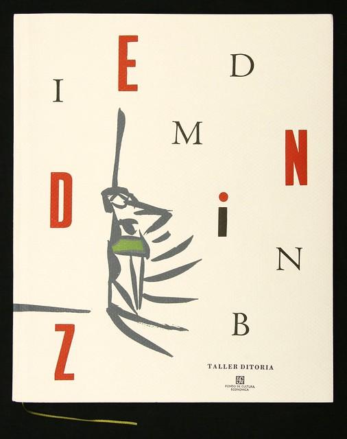 Gerardo Deniz, 2006 'IMDINB' pub- Taller Ditoria, Mexico