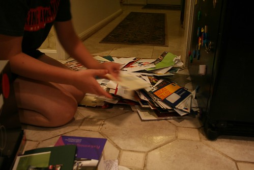 The great college mail sort