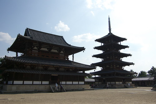 Horyuji temple (法隆寺)