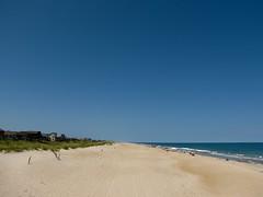 Vanishing Point, Horizon (K.G.Hawes) Tags: ocean sky beach vanishingpoint horizon creative northcarolina commons atlantic cc creativecommons outerbanks avon obx