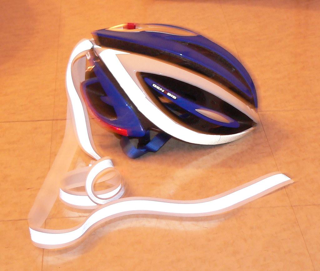 Helmet Reflectivity