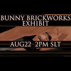 Bunny Brickworks at The Dominion Gallery (Janice Jupiter) Tags: fashion digital photoshop blog 3d clothing gallery avatar linden style clothes sl secondlife virtual blogging femdom dominon cs5 bunnybrickworks janicejupiter jupiterville jupitervillestylecom