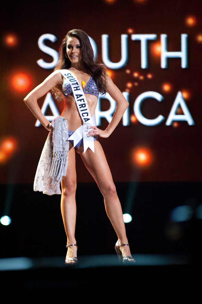 Miss Universe bikini South Africa Nicole Flint