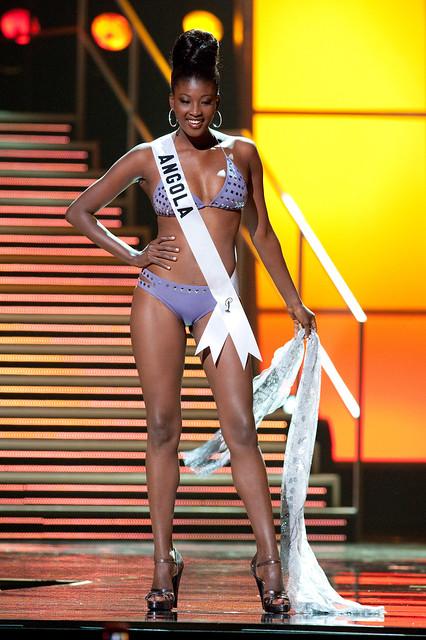 Jurema Ferraz Miss Angola 2010