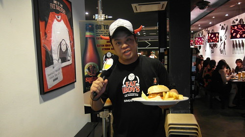 Bernie Tay, co-owner of Fatboy's.