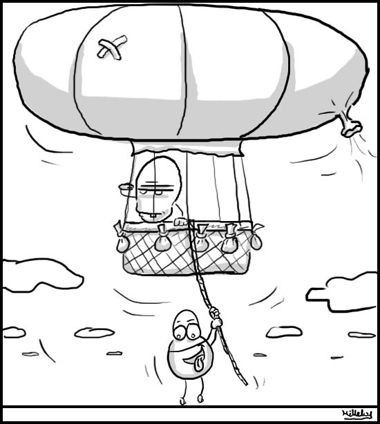 comics strips - balloon