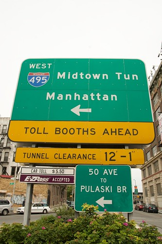 Midtown Tunnel Entrance