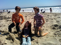 These are alive! (ocean-daughter) Tags: beach romy outdoors doll santamonica ken barbie gillian fashionista articulated jointed jubal deangelo fashionfever