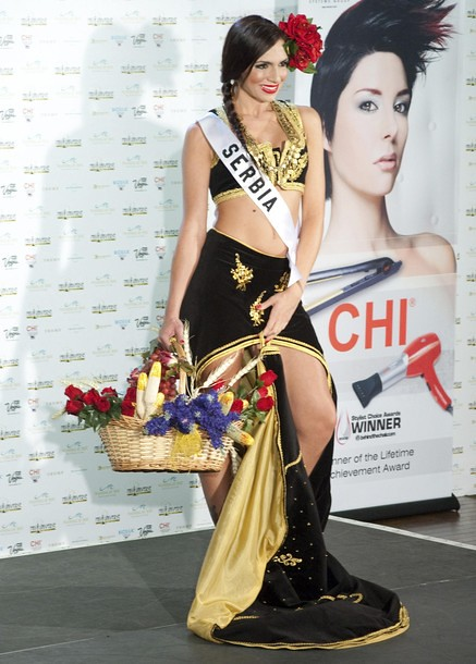 National Costume of Miss Serbia