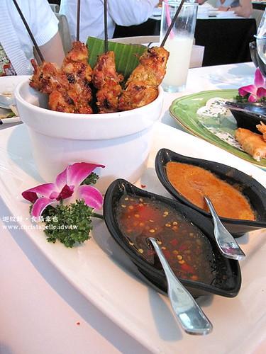 香米沙嗲雞肉串