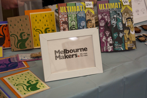 Melbourne Makers stall