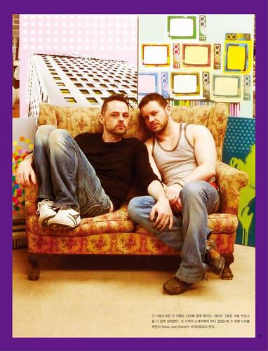 Adrian + Shane in OMAJU magazine