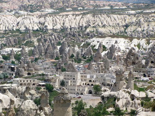 Cappadocia Village of Fairy Chimneys, Nevsehir Turkey