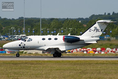G-FBLK - 510-0027 - Blink - Cessna 510 Citation Mustang - Luton - 100628 - Steven Gray - IMG_5979