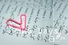 365 Days #24 (Әкяαмε ♥) Tags: pink ورق قلب مشبك بنكي