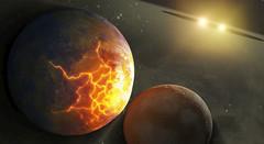 Exoplanetas alrededor de sistema binario