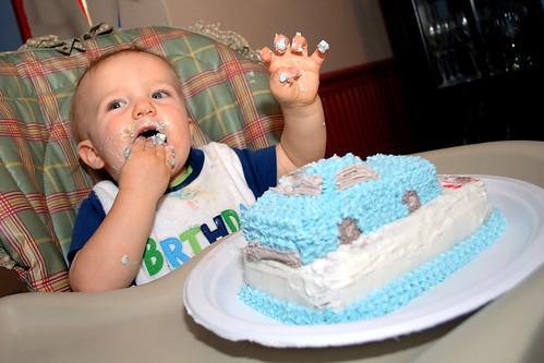 Mmmm. Cake.