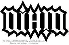 """NIMH"" Ambigram"