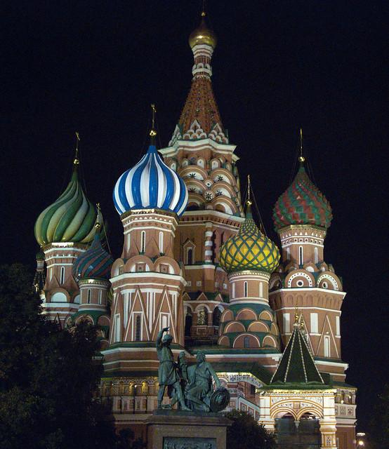 St Basils by night