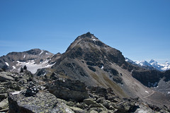 The Bella Tolla and the Rothorn (Phare de Griolet as seen from the Schwarzhorn Photo