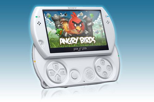 PlayStation minis: Angry Birds