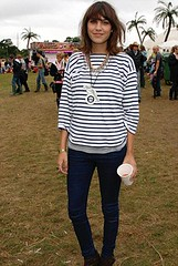 Alexa Chung in the Virgin Mobile Louder Lounge at the V Festival on August 19, 2007 in Chelmsford, England.