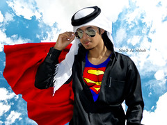 Super Man QTR  =p (She5 Al Shbab ) Tags: man al super superman qatar qtr she5 abady shbab 3bady