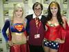 Supergirl + Wonder Woman (Screen Team) Tags: wonderwoman supergirl comiccon 2010 katiewilson angiegriffin filmbadgers moviemob saffronsinclaire screenteam