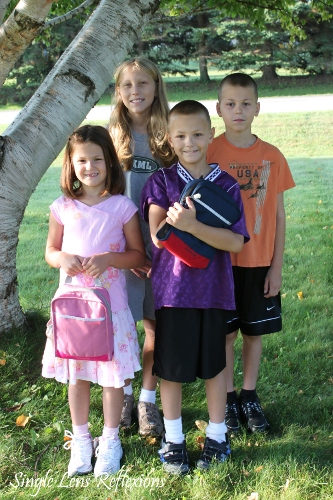 1st Day of School 2010