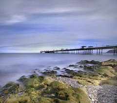 Llandudno Pier (i.rashid007) Tags: uk longexposure seascape pier llandudno northwales llandudnopier vertorama leebigstopper leegrad06s