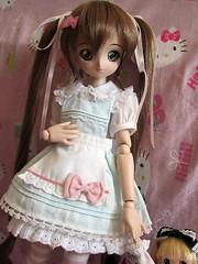 Sweet Mayu (hihihellokitty) Tags: pink dream mini lolita dollfie volks mayu mdd