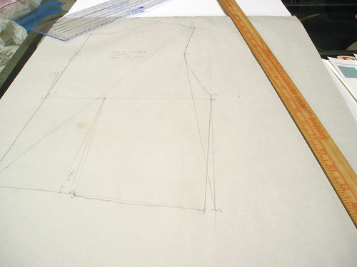 Drafting the front bodice sloper