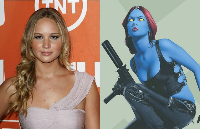X-Men First Class Jennifer Lawrence