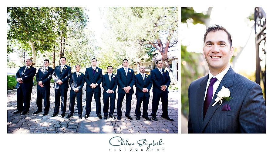 Westlake Village Inn groomsmen
