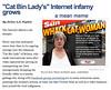 the purrminator (lfdeale) Tags: lady cat feline bin meme viral
